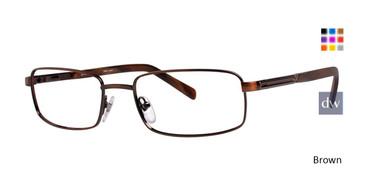 Brown Ducks Unlimited Henderson Eyeglasses.