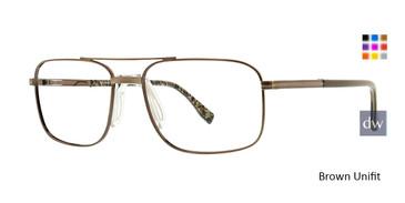 Brown Unifit Ducks Unlimited Porter Eyeglasses.
