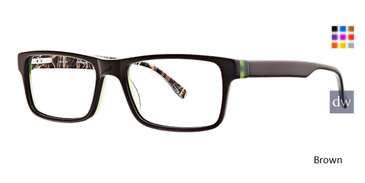 Brown Ducks Unlimited Powell Eyeglasses.