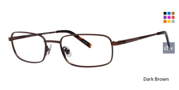 Dark Brown Ducks Unlimited Prescott Eyeglasses.