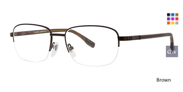 Brown Ducks Unlimited Putnam Eyeglasses.