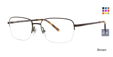 Brown Ducks Unlimited Redding Eyeglasses.