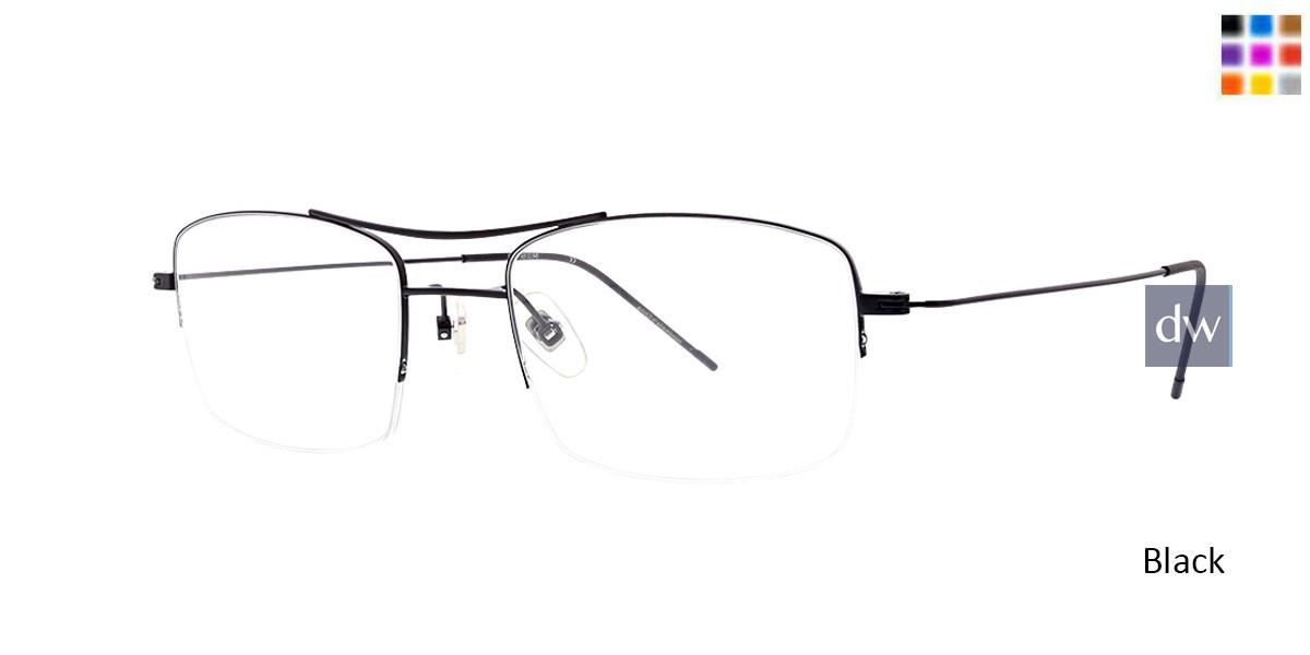 Black Argyleculture Henley Eyeglasses.