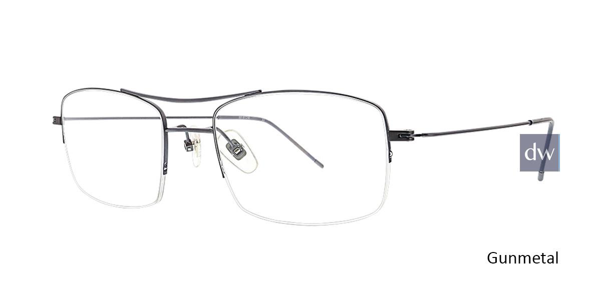 Gunmetal Argyleculture Henley Eyeglasses.