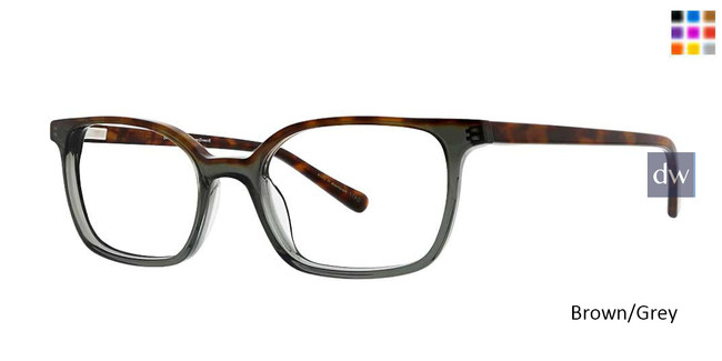 Brown/Grey Argyleculture Jarrett Eyeglasses.