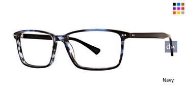 Navy Argyleculture Kessel Eyeglasses.