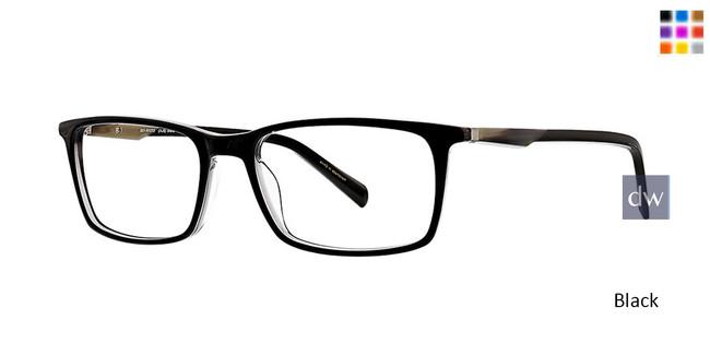 Black Argyleculture Redman Eyeglasses.