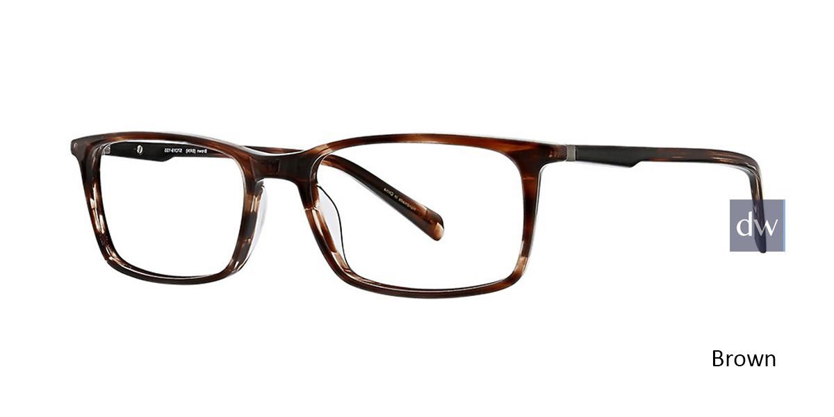 Brown Argyleculture Redman Eyeglasses.