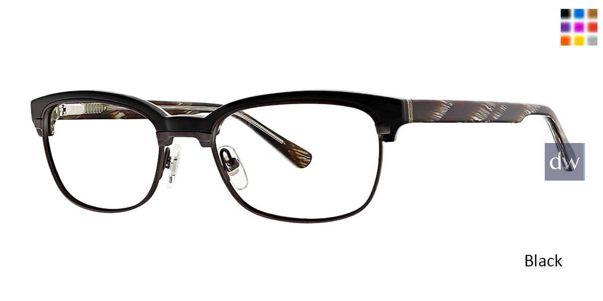 Black Horn Argyleculture Waters Eyeglasses.