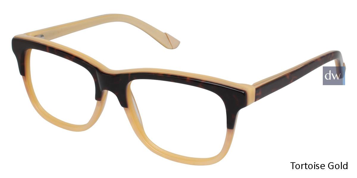 Tortoise Gold L.A.M.B. LA016 Eyeglasses