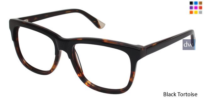 Black Tortoise L.A.M.B. LA016 Eyeglasses