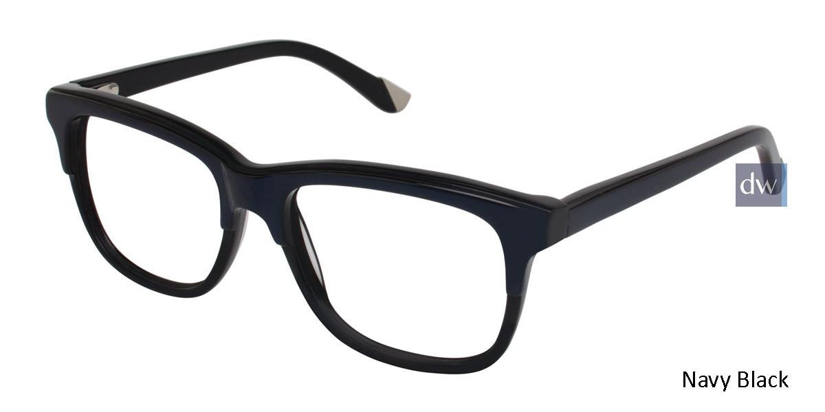 Navy Black L.A.M.B. LA016 Eyeglasses