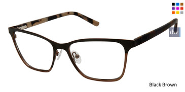 Black Brown L.A.M.B. LA054 Eyeglasses