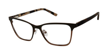 Black Brown L.A.M.B. HARLEY - LA054 Eyeglasses.