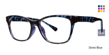 Demi Blue Vivid Soho 1041 Eyeglasses.