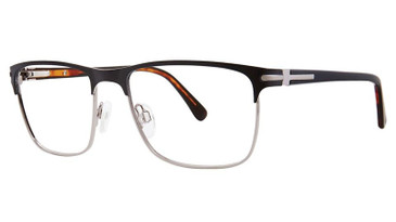 Matt Black/Shiny Gunmetal Vivid 399 Eyeglasses.