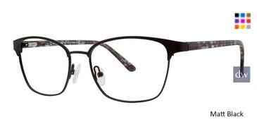 Matt Black Vivid 401 Eyeglasses.