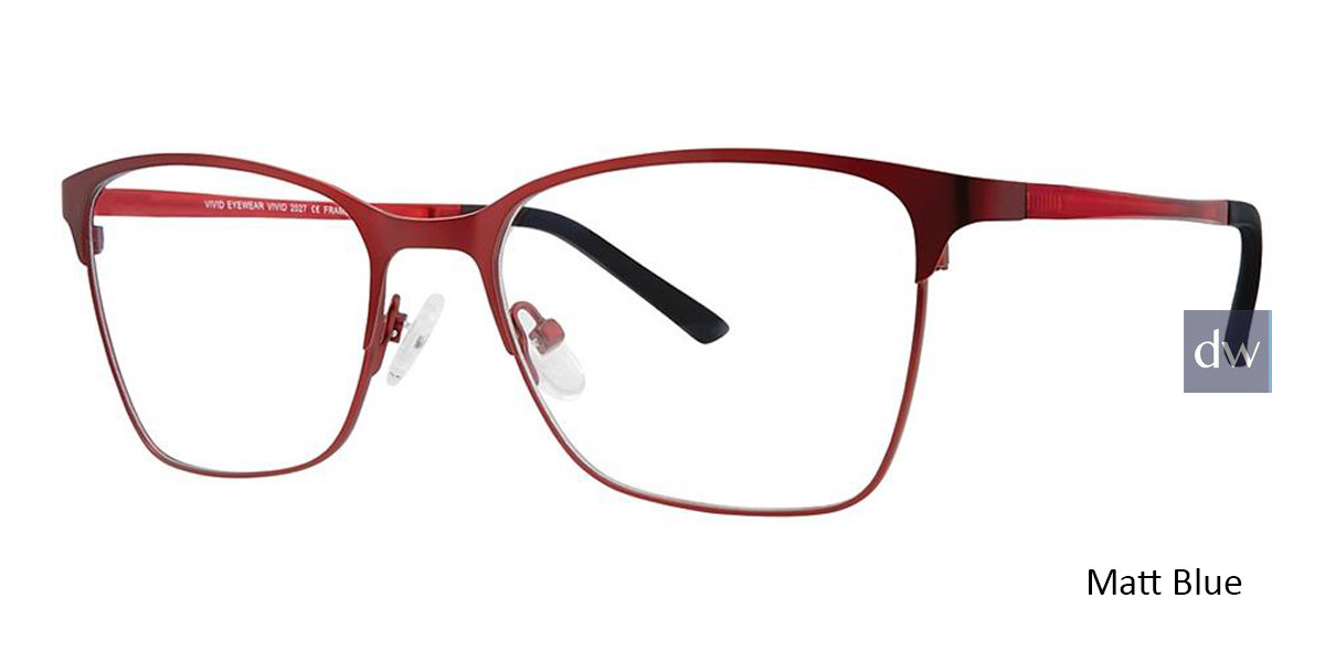 Matt Wine Vivid 2027 Eyeglasses.