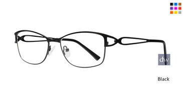 Black  Eight To Eighty Tara Eyeglasses.