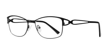 Black Eight To Eighty Tara Eyeglasses.