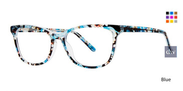 Blue Vivid Splash 71 Eyeglasses.