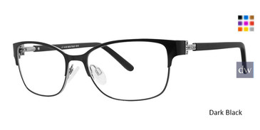 Dark Black Vivid Boutique 5018 Eyeglasses.