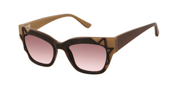 Tortoise Gold L.A.M.B. DARCY - LA547 Sunglasses - Teenager