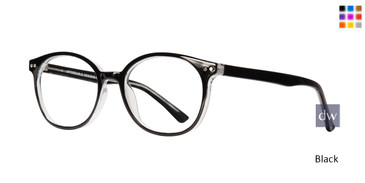 Black Affordable Affordable Designs Dallas Eyeglasses - Teenager.