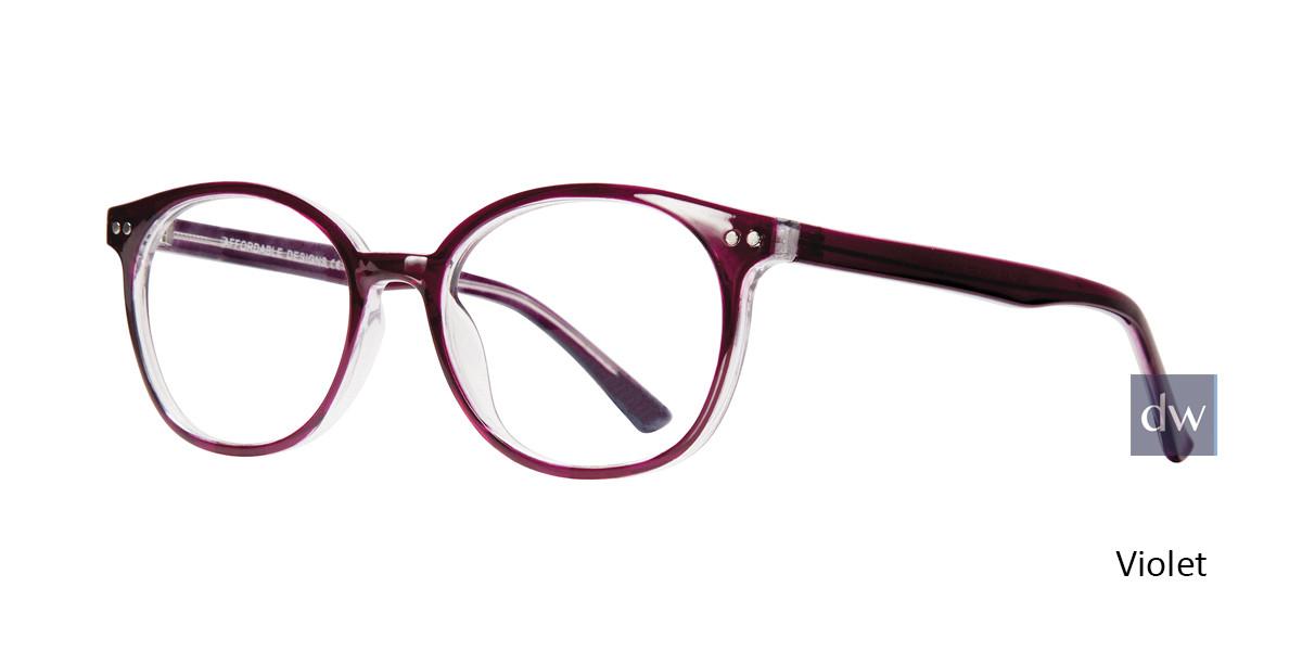 Violet Affordable Designs Dallas Eyeglasses - Teenager.