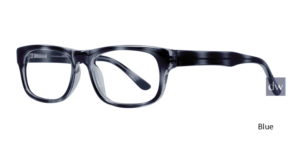 Blue Affordable Designs Professor Eyeglasses.
