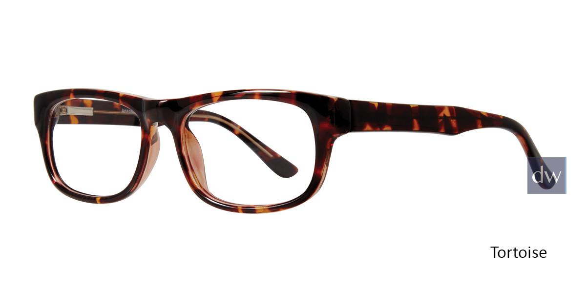 Tortoise Affordable Designs Professor Eyeglasses.