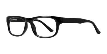 Black Affordable Designs Professor Eyeglasses.