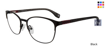 Black Converse Q207 Eyeglasses.