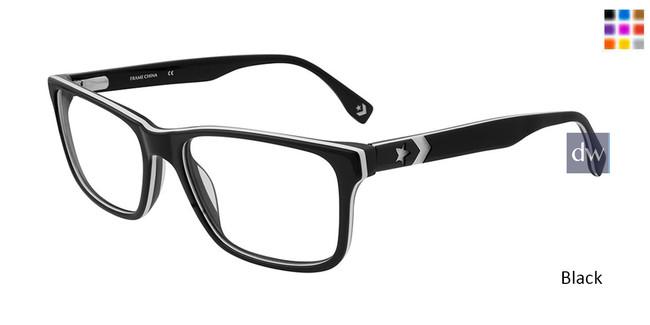 Black Converse Q320 Eyeglasses.