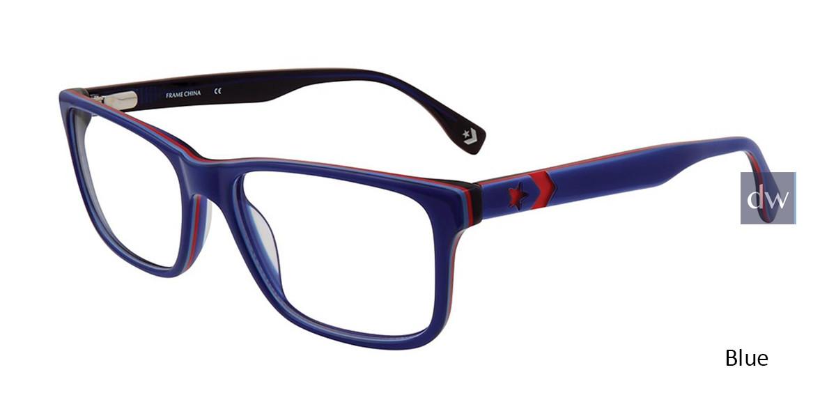 Blue Converse Q320 Eyeglasses.