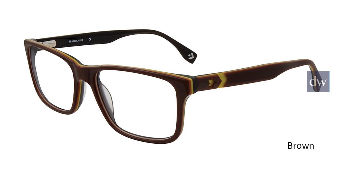 Brown Converse Q320 Eyeglasses.