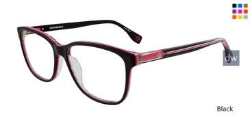 Black Converse Q410 Eyeglasses.