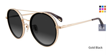 Gold Black Police SPL 830 Sunglasses.