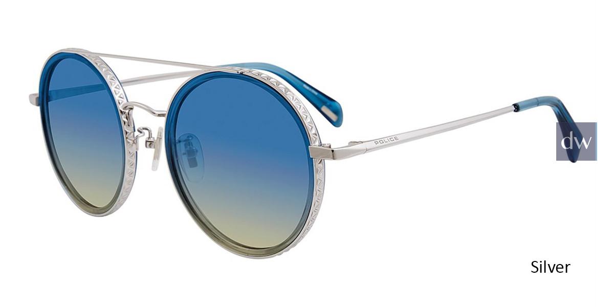 Silver Police SPL830 Sunglasses.