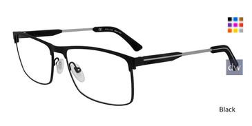 Black Police VPL 798 Eyeglasses.