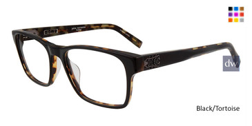 Black/Tortoise John Varvatos V409 Eyeglasses.