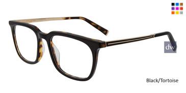Black/Tortoise John Varvatos V411 Eyeglasses.