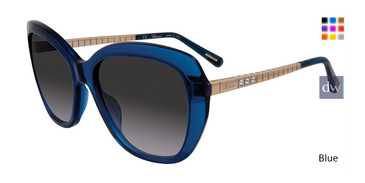 Blue Chopard SCH259S Sunglasses.