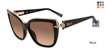 Black Chopard SCHC80S Sunglasses
