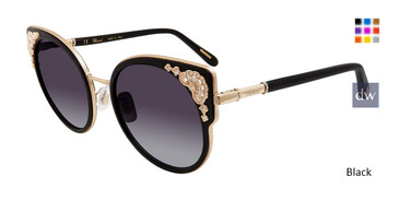 Black Chopard SCHC82S Sunglasses.
