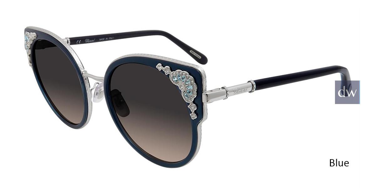 Blue Chopard SCHC82S Sunglasses.