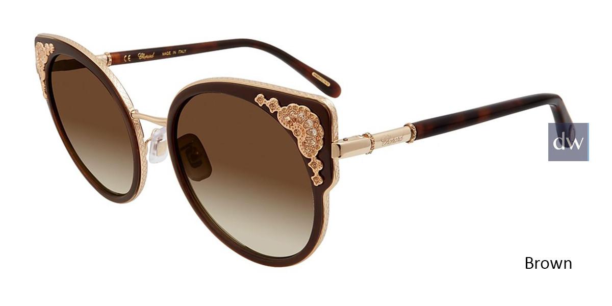 Brown Chopard SCHC82S Sunglasses.