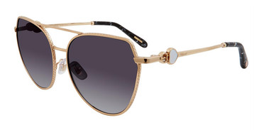 Gold (0300) Chopard SCHC87S Sunglasses.