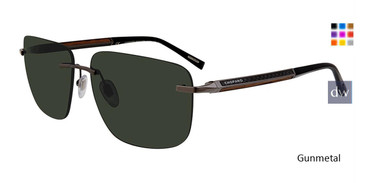 Gunmetal Chopard SCHC95 Sunglasses.