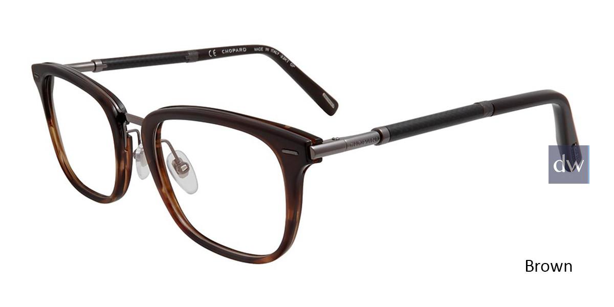 Brown Chopard VCHC76 Eyeglasses.